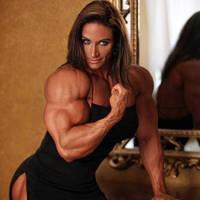 Theresa Ivancik Super Biceps by Turbo99