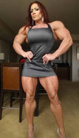 Isabelle Muscle morph