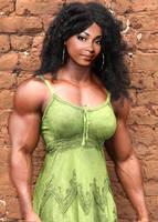 Ebony Beauty Muscled by Turbo99