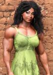 Ebony Beauty Muscled
