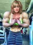 Massive Upper Body Girl