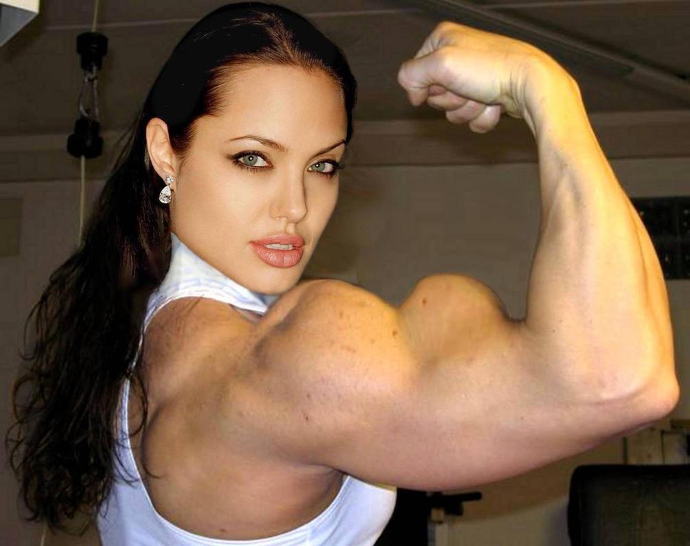 Angelina Biceps Morph by Turbo99