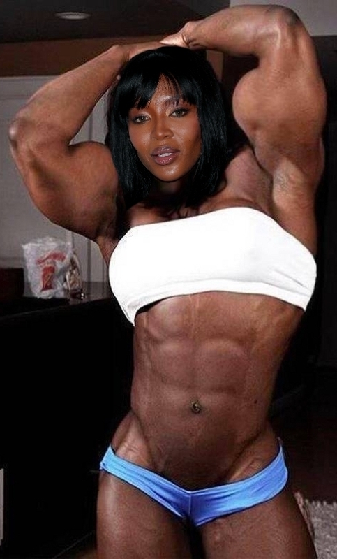 Naomi Muscled by Turbo99