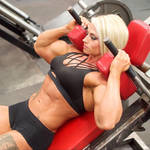 Blonde Muscle Perfection