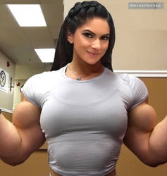 Aspen Rae Best Biceps by Turbo99