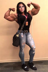 Chelsea Gilligan Muscled