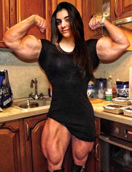 Tessa Barresi Supreme Biceps by Turbo99