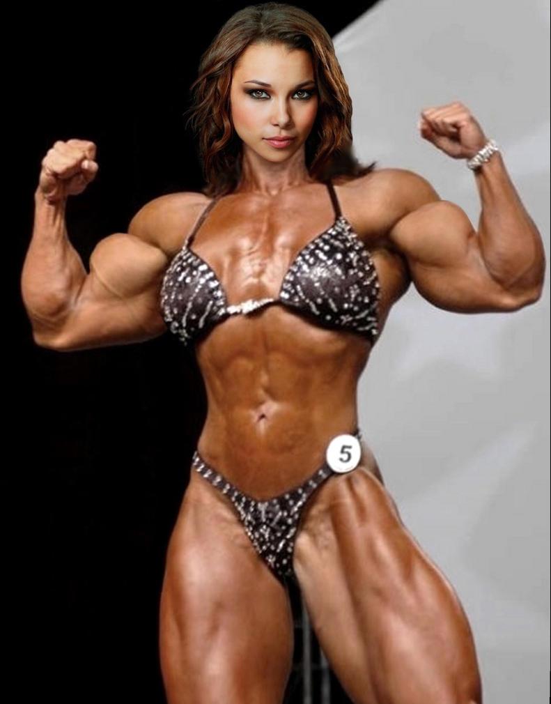 Jessica Parker Kennedy Bikini Muscle by Turbo99