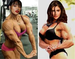 Liza vs Anushka by Turbo99