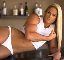 Olivia Moschetti More Muscle by Turbo99