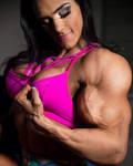 She loves her muscles