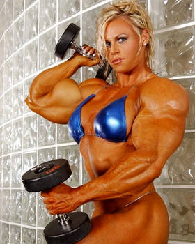 Christine Muscled