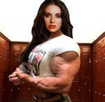 Alison Muscled Up