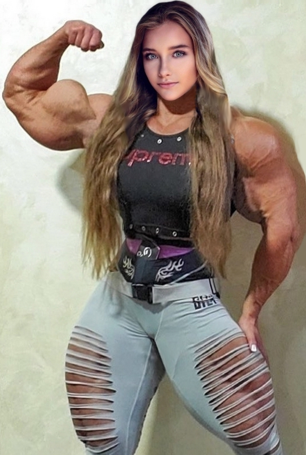 Girl muscle The 11