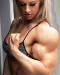 Hailey Huge Biceps