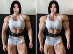 Asian Female Muscle Growth