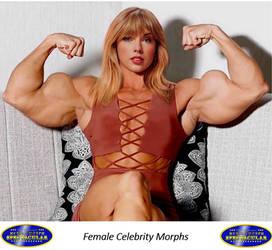 Female Muscle Morphs: Celebrities
