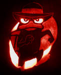 Agent P Carved