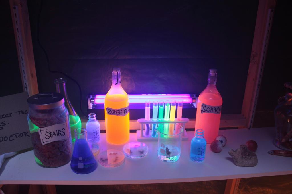 Halloween Mad Science Lab By Stirk Bostaurus On Deviantart
