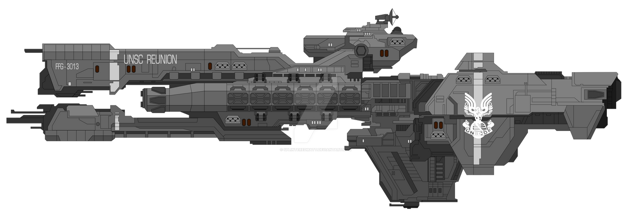 Remembrance-class frigate by SplinteredMatt