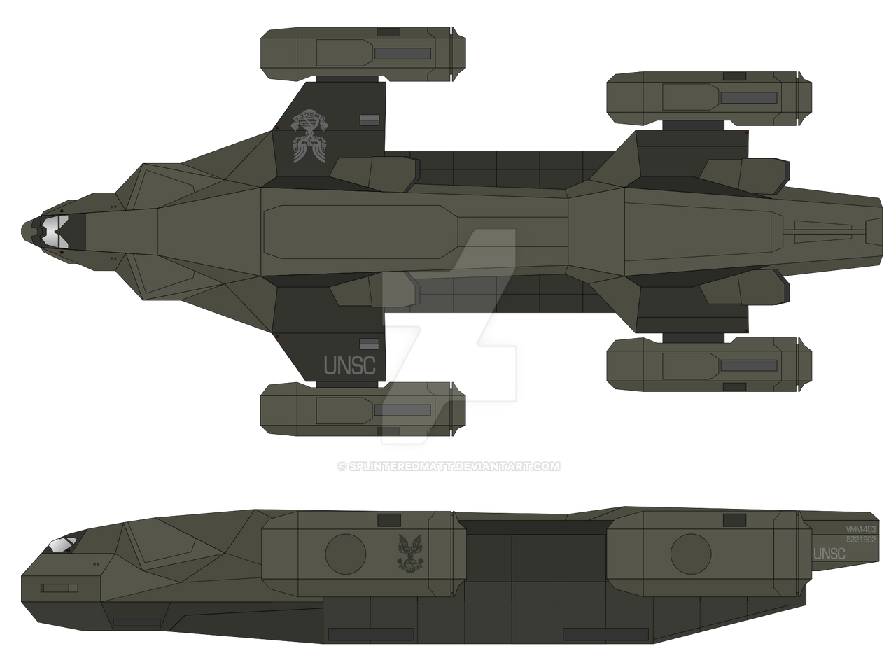 D-98 Osprey by SplinteredMatt