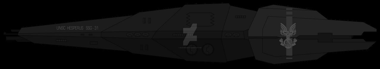 Hesperus-class prowler by SplinteredMatt
