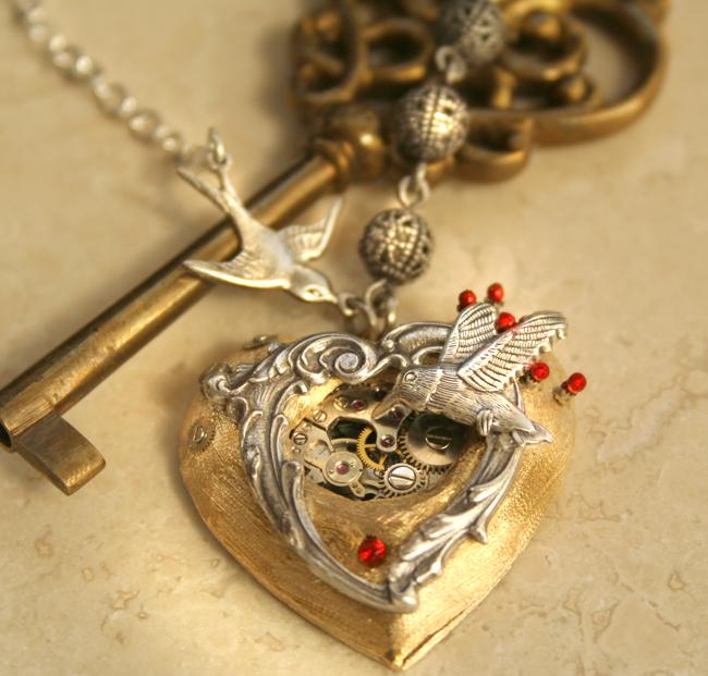 nakit -ukras ili umetnost - Page 4 Steampunk_victorian_heart_by_byrdldy-d4ld6n5