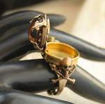 Poison Skull Ring