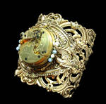 Victorian Steampunk Year of the Dragon Cuff