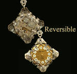 Victorian Steampunk Necklace Reversible