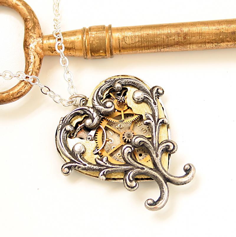 Steam Heart Clockworks by byrdldy