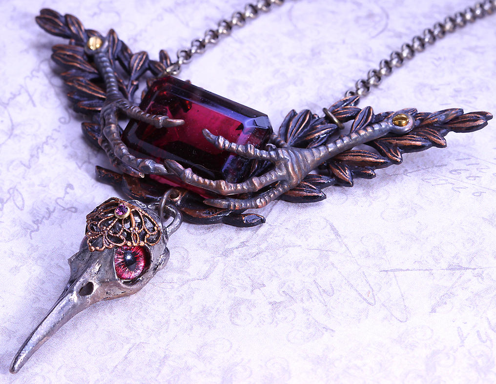 The Bird Necklace by byrdldy