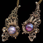 His and Hers Dragon Necklace