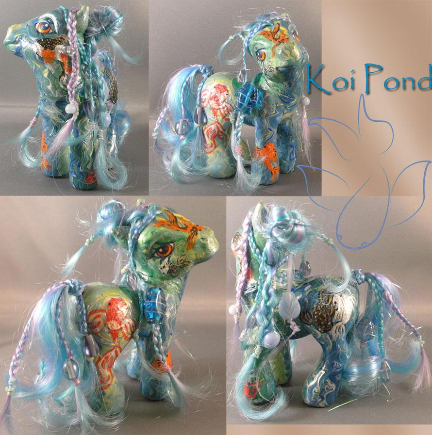Real Custom Koi Pond by RevRuby