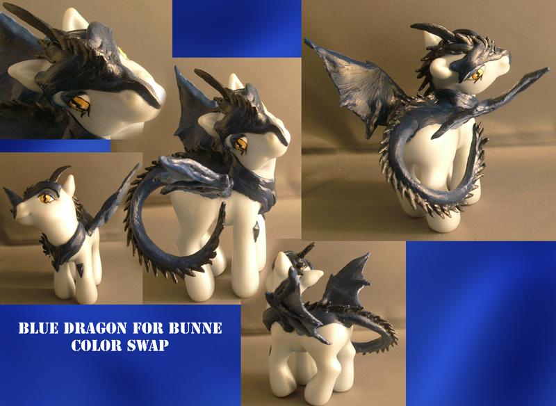 Real Custom: Blue Dragon by RevRuby
