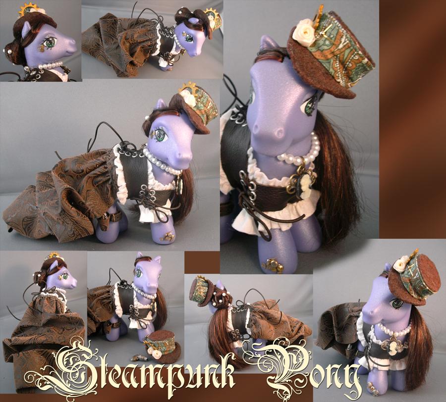 Steampunk Pony by RevRuby