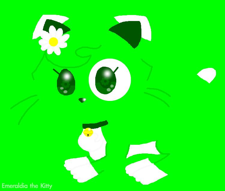 Minimalist Emeraldia by Emeraldia-the-Kitty