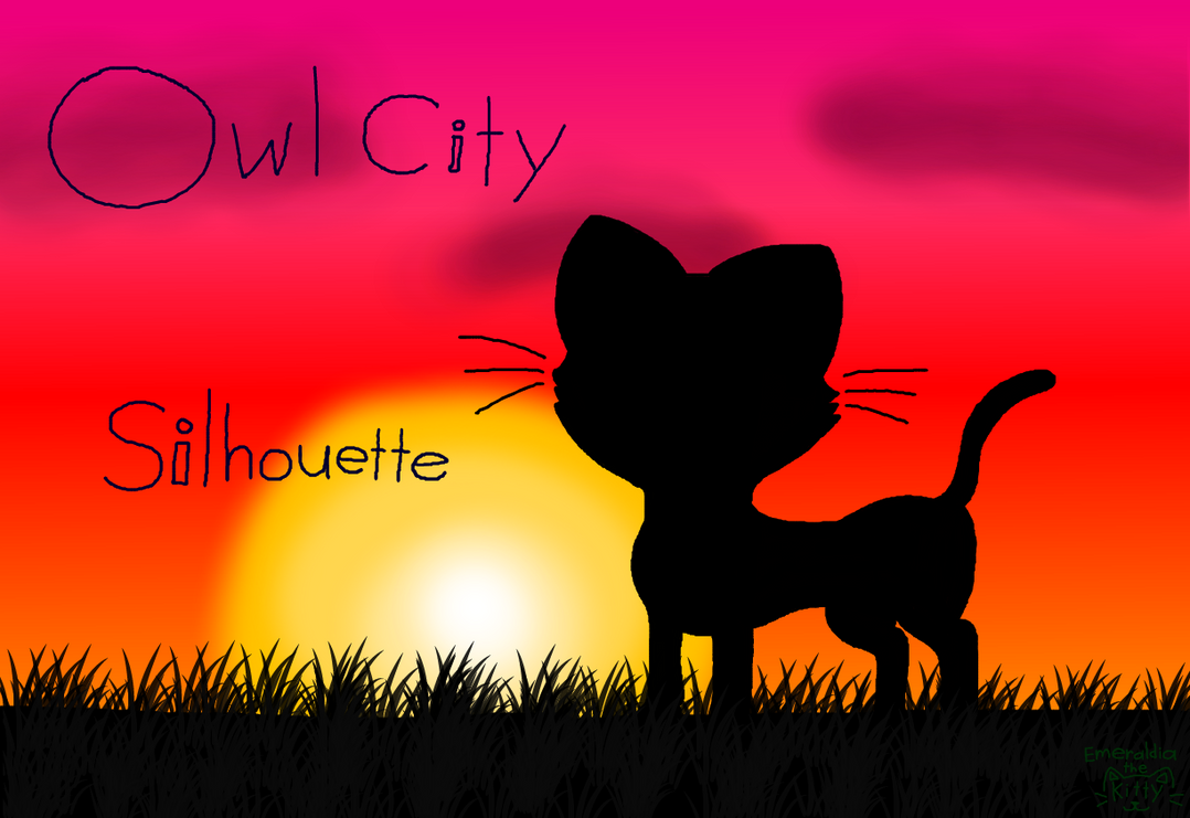 Owl City: Silhouette by Emeraldia-the-Kitty