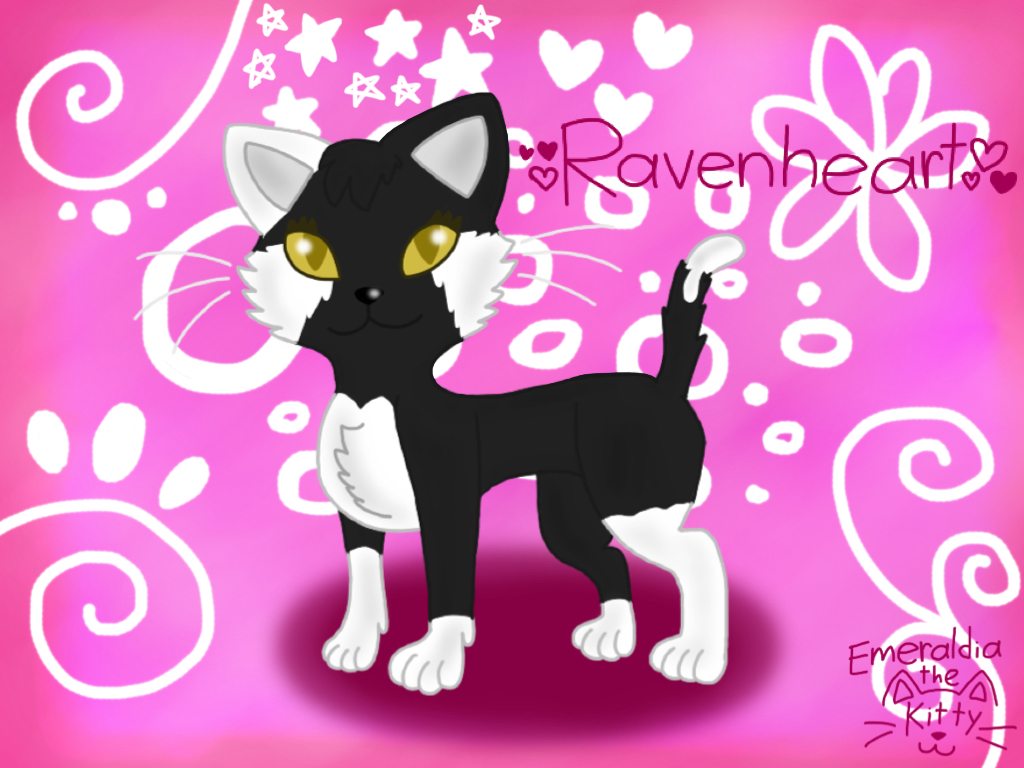 Commission: Ravenheart by Emeraldia-the-Kitty