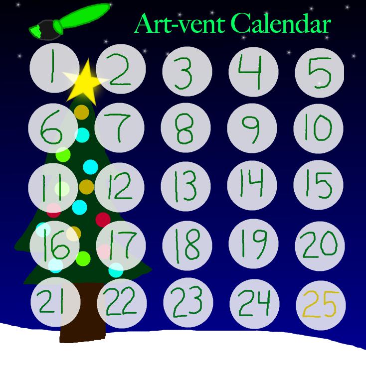 Artvent Calendar 2016 by Emeraldia-the-Kitty