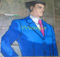 Phoenix Wright - Ironed by VV-Weegee