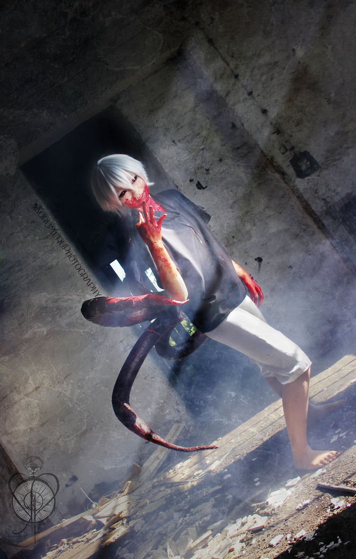 Kaneki Ken - Pain makes people change by KorumeruPhotography