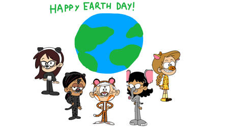 A Loud House Animal Earth Day Pic
