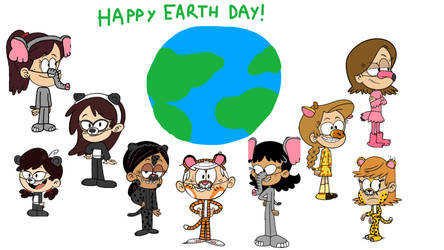 Some Jungle Animal Pals on Earth Day (Updated)