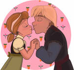 Kristoff and Anna - Kiss
