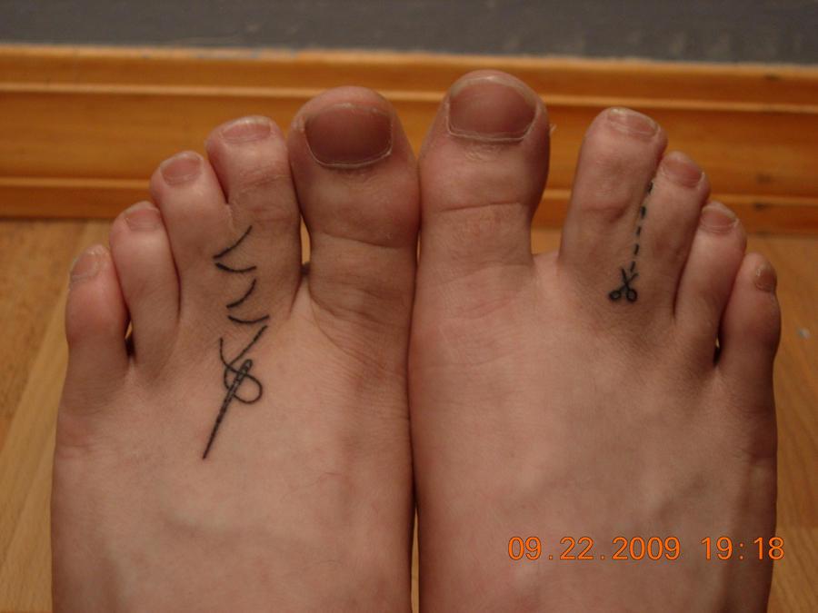 A Pairing of Tattoos by Joshua-adam