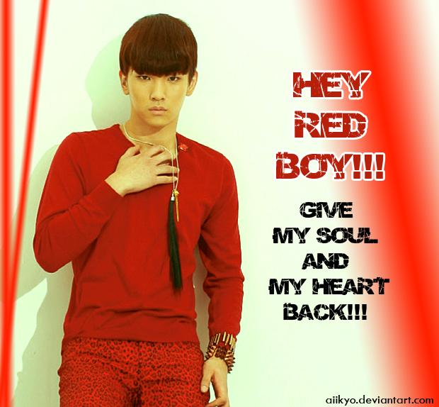 Red Boy Key Shinee By Aiikyo On Deviantart