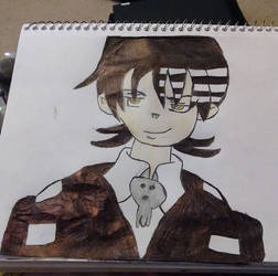 Death the Kid drawing