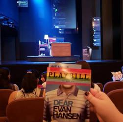 my Seat for Dear Evan Hansen
