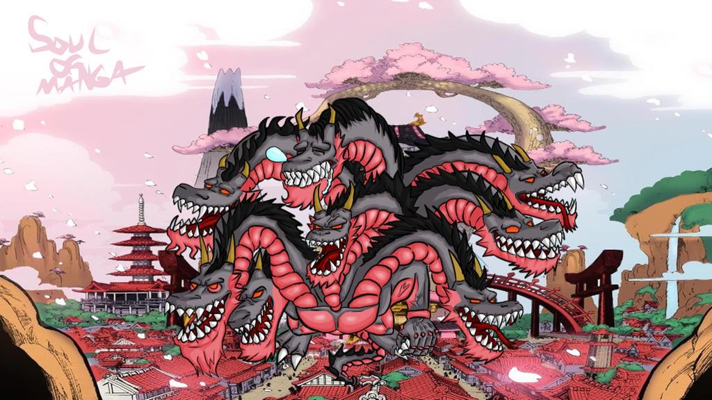 Shogun Kurozumi orochi One Piece 927 (Fan Art) by S0UlofMANGA on DeviantArt